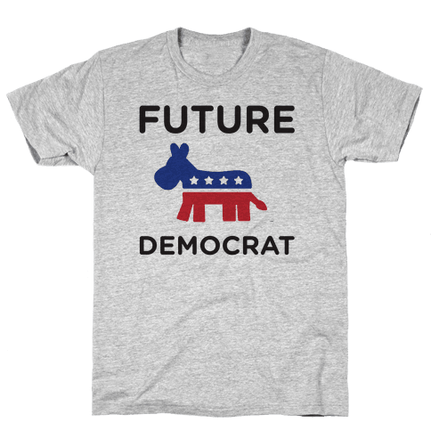 Democratic Baby Mens T-Shirt