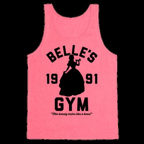Belle's Gym Tank Top