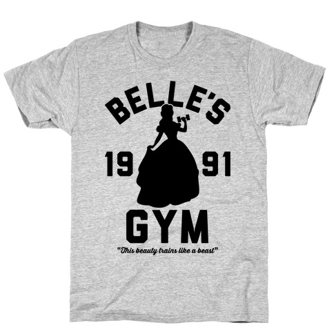 Belle's Gym T-Shirt