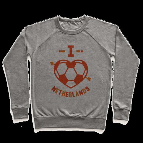 I Love Netherlands (Soccer) Pullover