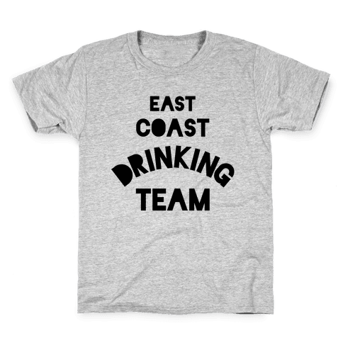 East Coast Drinking Team Kids T-Shirt
