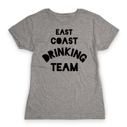 East Coast Drinking Team Womens T-Shirt