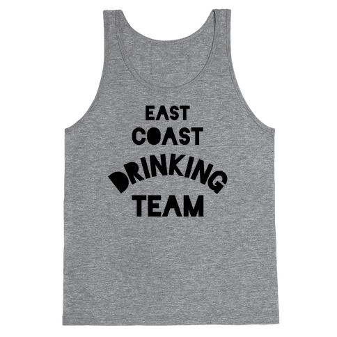 East Coast Drinking Team Tank Top