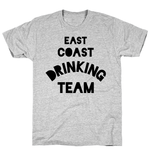 East Coast Drinking Team Mens T-Shirt