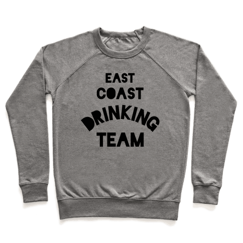 East Coast Drinking Team Pullover