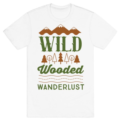 Wild Wooded Wanderlust T-Shirt
