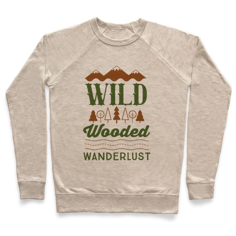 Wild Wooded Wanderlust Pullover