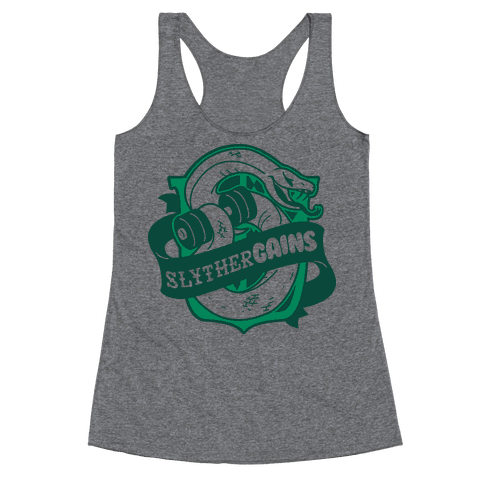 SlytherGAINS Racerback Tank Top