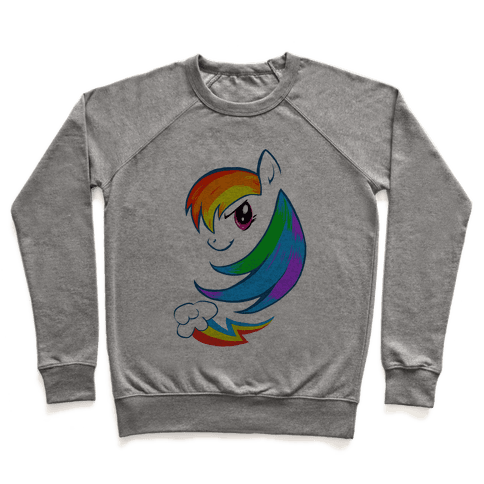 The Rainbow Pony Pullover
