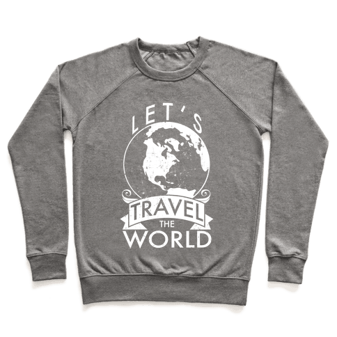 Let's Travel the World Pullover