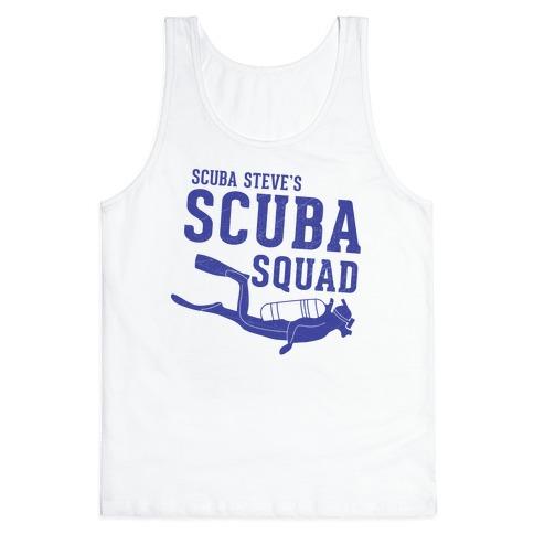 Scuba Steve Scuba Squad Tank Top