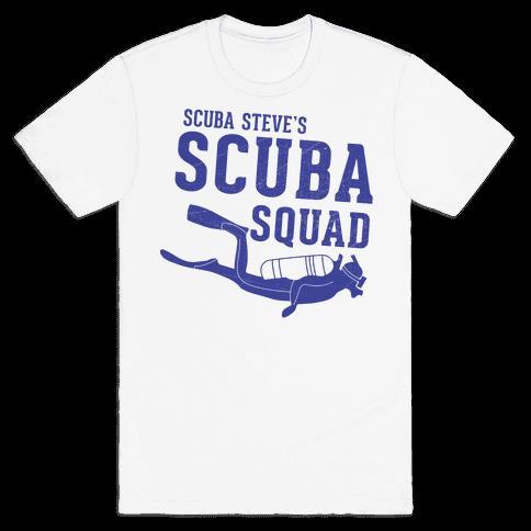 Scuba Steve Scuba Squad Mens T-Shirt