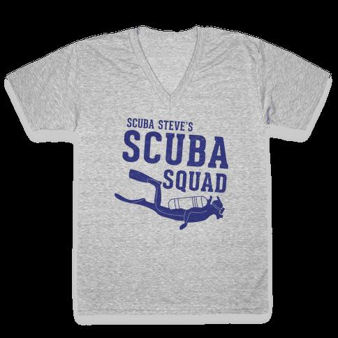 Scuba Steve Scuba Squad V-Neck Tee Shirt