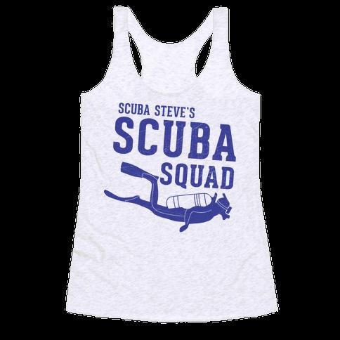 Scuba Steve Scuba Squad Racerback Tank Top