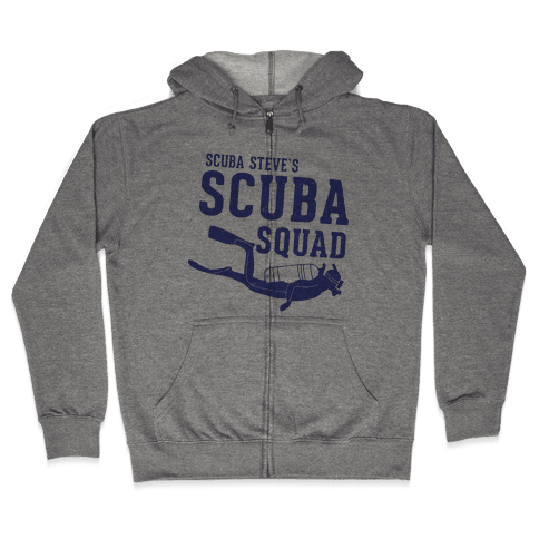 Scuba Steve Scuba Squad Zip Hoodie