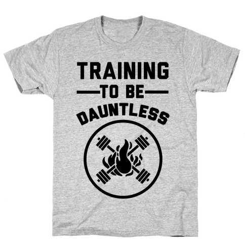 Training To Be Dauntless Mens T-Shirt