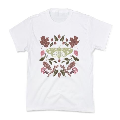 Woodland Moth Kids T-Shirt