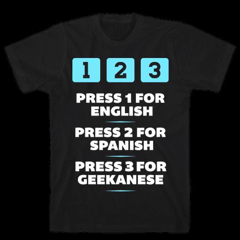 Geekanese Mens T-Shirt