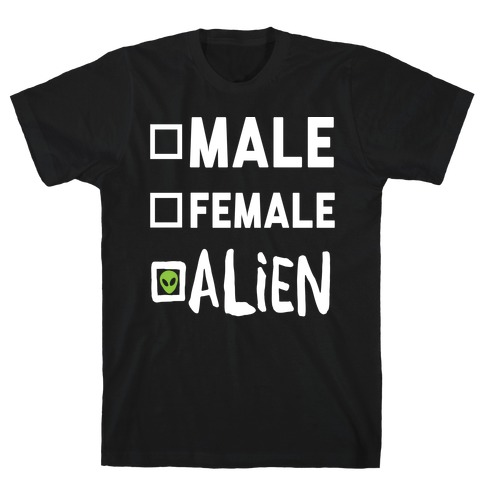 Male Female Alien T-Shirt