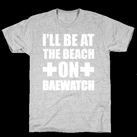 Baewatch Mens T-Shirt