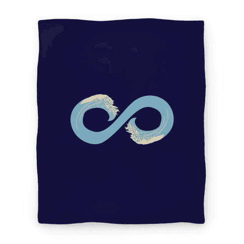 Ocean Infinity (Light Blue) Blanket