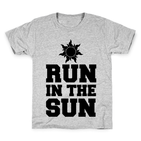 Run In The Sun Kids T-Shirt