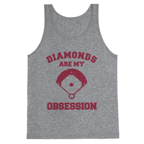 Diamonds are my Obsession Tank Top