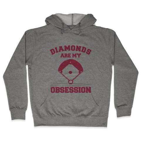 Diamonds are my Obsession Hooded Sweatshirt