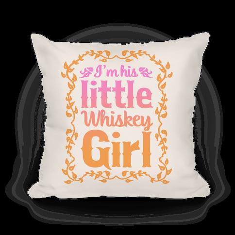 Little Whiskey Girl Pillow