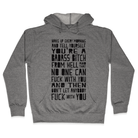 Badass Bitch Hooded Sweatshirt