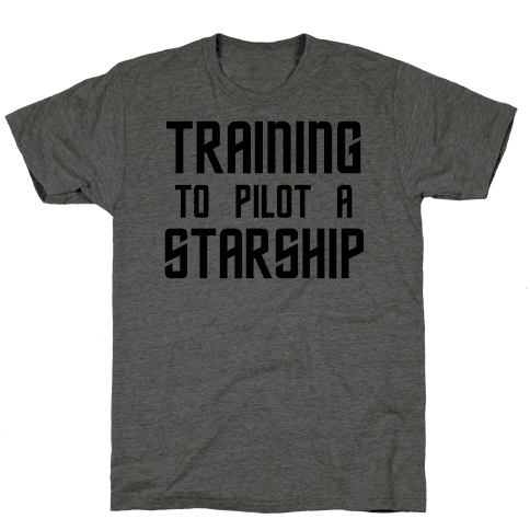 Training To Pilot A Starship
