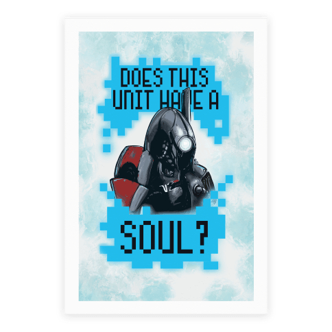 Does This Unit Have a Soul? (Legion) Poster
