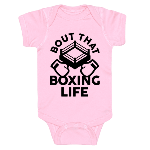 Bout That Boxing Life Baby Onesy