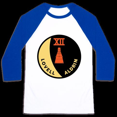 Gemini 12 Baseball Tee