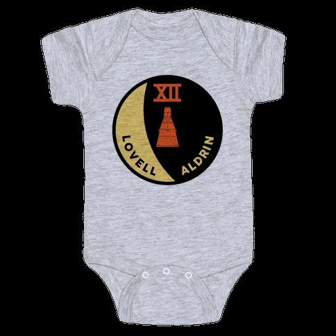 Gemini 12 Baby Onesy