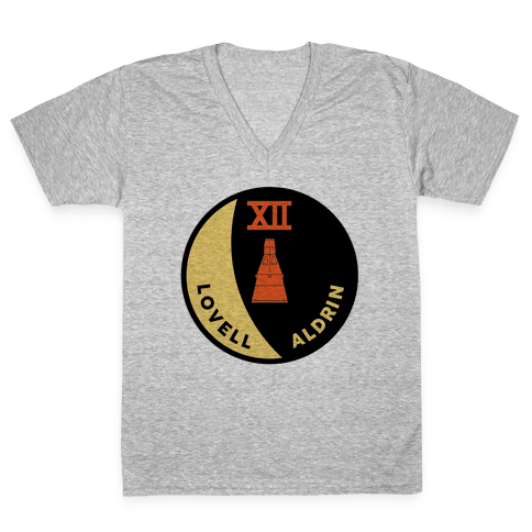 Gemini 12 V-Neck Tee Shirt