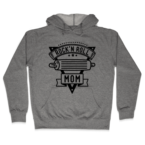 Rock-n-Roll Mom Hooded Sweatshirt
