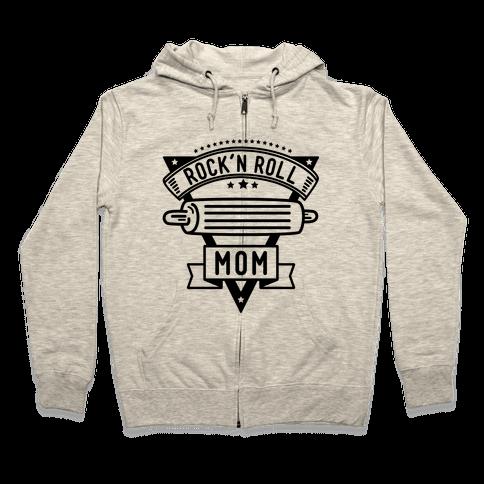 Rock-n-Roll Mom Zip Hoodie