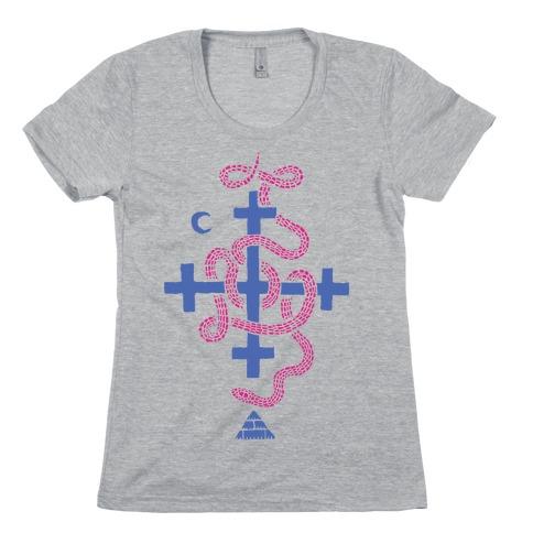 Snake Cult Womens T-Shirt