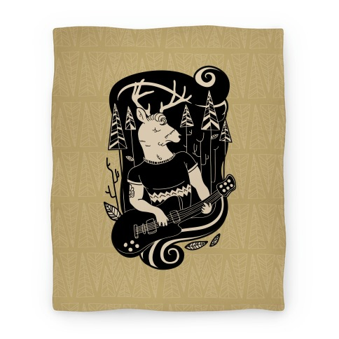 Rock and Roll Buck Blanket