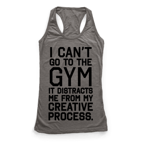 The Gym Distracts Me From My Creative Process