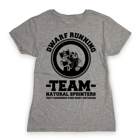 Dwarf Running Team Womens T-Shirt