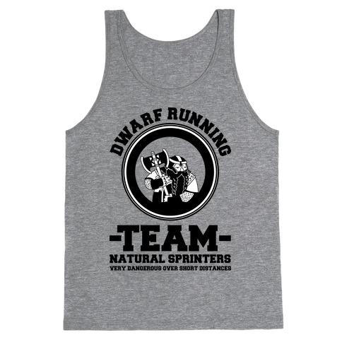 Dwarf Running Team Tank Top