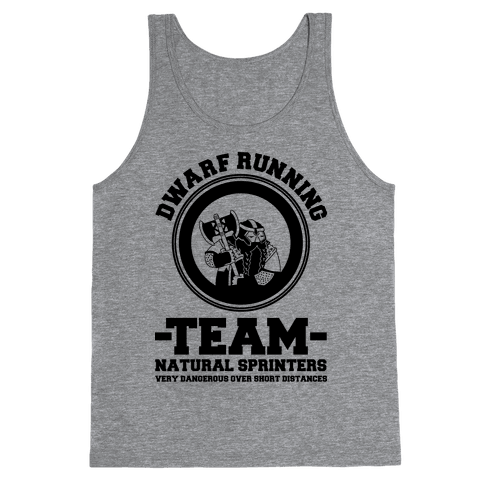 Dwarf Running Team Tank Top