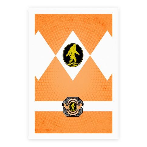 Sasquatch Power Ranger