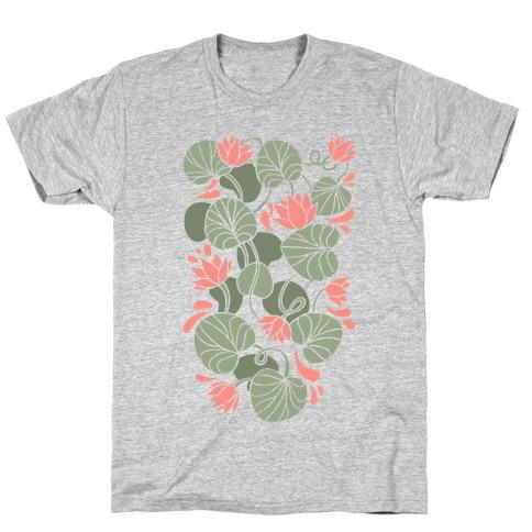 Art Nouveau Water Lilies T-Shirt