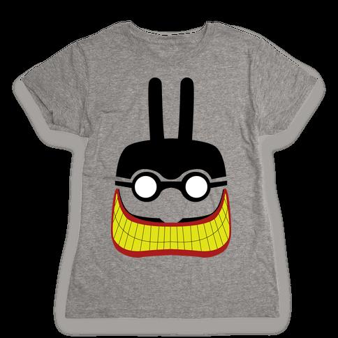Meanie Minimal Womens T-Shirt
