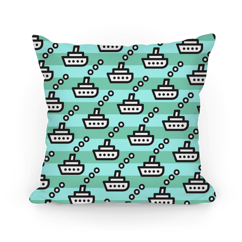 Boats Pillow