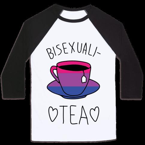 Bisexuali-TEA Baseball Tee
