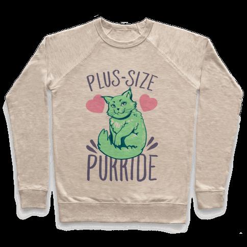 Plus-Size Purride Pullover